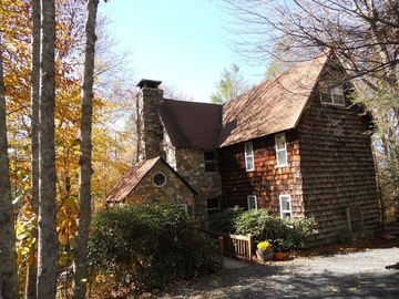 Beech Mountain house rental - Front left of home