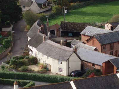 Brook Cottage is on the edge of the village