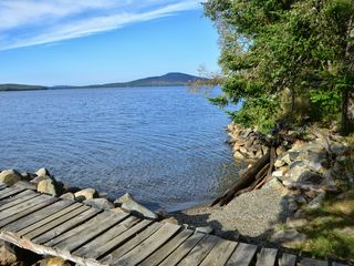 Rangeley Lake cabin photo - Westerly view towards Bald Mountain (great short hike to top)