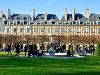 4th Arrondissement Pompidou Le Marais apartment photo - Place des Vosges, 4 minutes from our door!