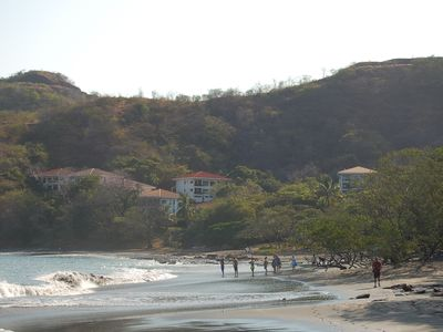 Los Almendros & Ocotal Beach.  Condo 41 in on front row, last building on left.