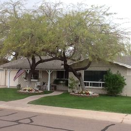 "Downtown Scottsdale house rental - ""Casa Petrone"" w/1 car garage and double drive"