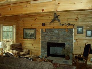 Wears Valley cabin photo - Cozy with privacy and nature!