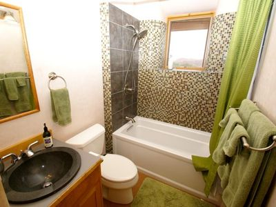 Guest Bathroom with soaker tub