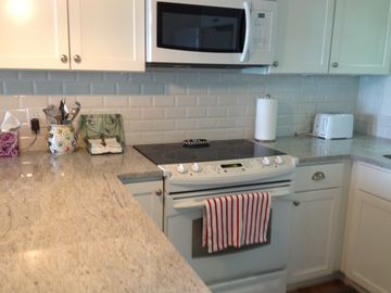 New granite countertops and cabinets!