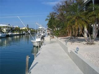 Islamorada house photo - Concrete dock