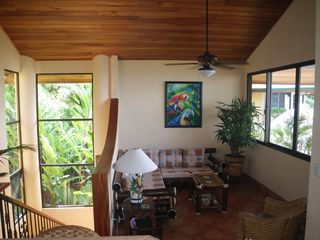 Dominical villa photo - Living room, Though outside is were you really live!