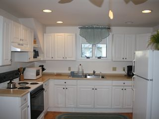 York Beach apartment photo - Kitchen with plenty of light will welcome you to entertain