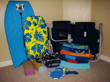 Everything you need for the beach!