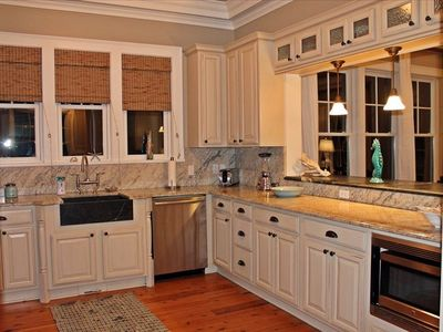 Huge kitchen with all the amenities to cook a fabulous meal.