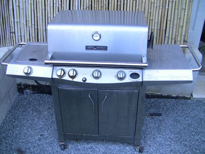 Sunset Beach house rental - Stainless Steel Propane Grill
