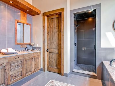 Master bath - Kohler Air bath along with Large Steam Shower.