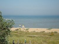 Large beach front house with great sea views