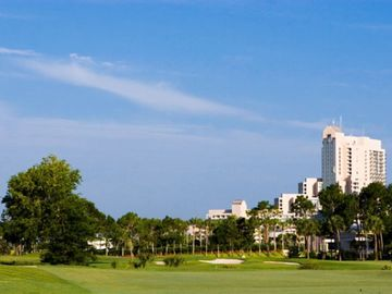 Golfing in Celebration, Florida