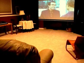 Portland apartment photo - Enjoy a movie!