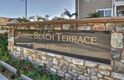 "The entrance to our complex, ""Niguel Beach Terrce at Strand Beach&am..."