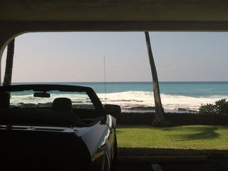Kailua Kona condo photo - Parking in Garage even has a great view.