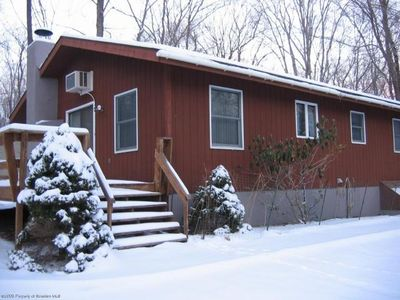 Big Bass Lake house rental - A Winter Wonderland!