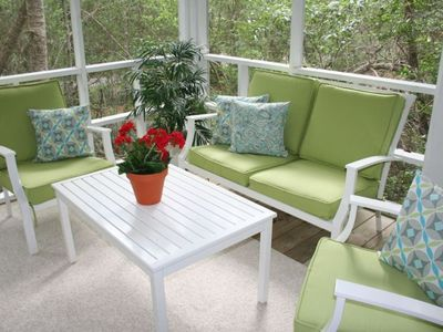 New porch furniture