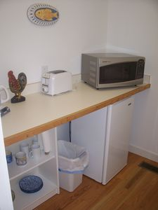Recreation cottage kitchenette