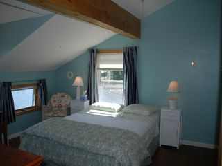 Master Bedroom w/views of Goose Bay 1000 Island and cove - Alexandria Bay cottage vacation rental photo