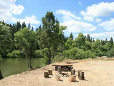 Picnic area near the lake