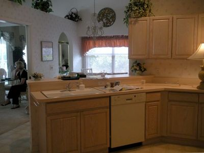 Fully Equipped Kitchen for the Chef in You! Cozy Breakfast Nook and Bar.