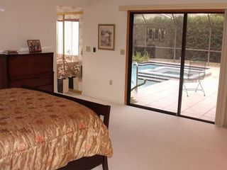 Bradenton house photo - Master Bedroom opens to Lanai