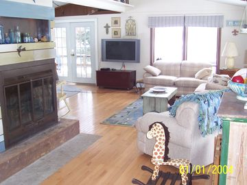 Large open concept family room
