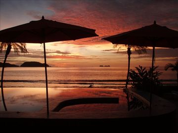 Playa Flamingo villa rental - Words cannot describe our sunsets--you have to be here