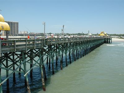 Apache Pier next to Kingston Plantation.  Fishing equipment rental available