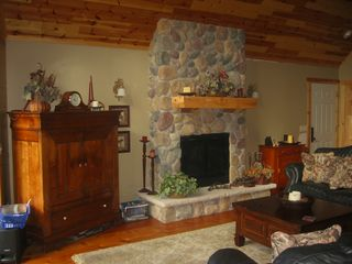 Crosslake cabin photo - Family room