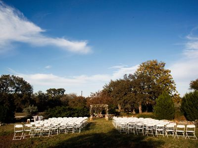 Wedding Ceremony at Bear Creek Retreat