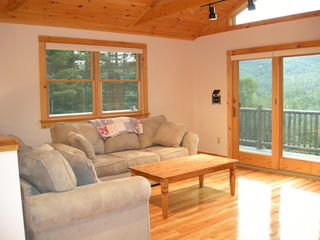 Lake Placid house photo - Relax in the open, spacious living room