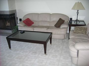 St. Augustine Beach condo rental - living room