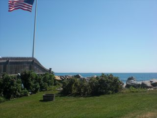Rye house photo - Ocean View from patio deck