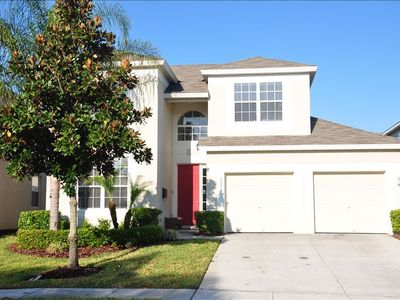 Welcome home to your two floor, 5 BR/5BR home with private pool/spa