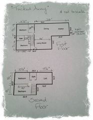 Madaket house photo - This is a very basic floor plan for the house.