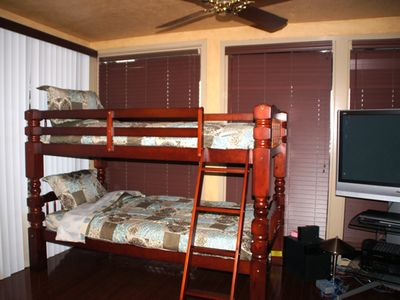 Bunk Beds in Upstairs Master