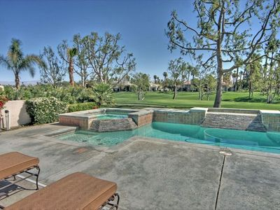 Private Pool and Spa on the 2nd Hole of the PGA West Palmer Course