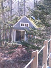 bunk house is 100 feet from house - Cushing house vacation rental photo