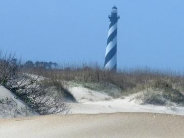 Hatteras Lighthouse.