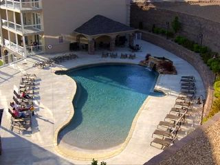 Osage Beach condo photo - The pool is always popular with its lake view!