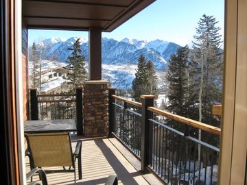 Mountain view from Family Room and Deck