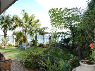 North Shore villa photo - Villa's private garden overlooking the beach