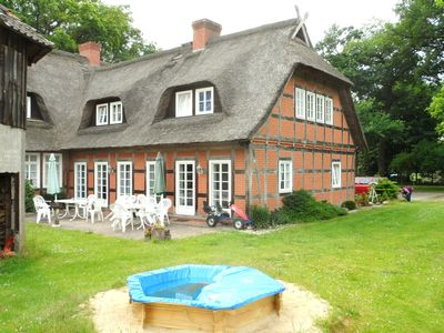 Family-friendly apartments in country house style