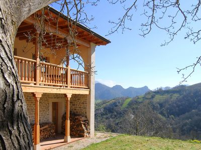 House in mountain location with amazing views. Picos de Europa. - Main House