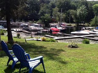 Greenwood Lake house photo - Relax on the grounds of Antons on the lake