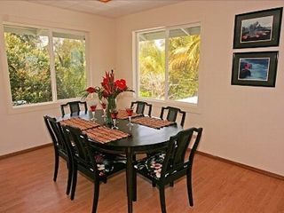 Keaau house photo - Dining Room with additional chairs available.