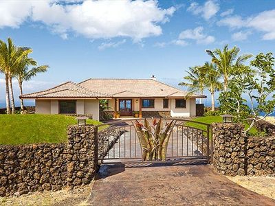 Gated and walled home within gated community